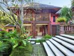 Villa Bunga Wangi Study from Garden