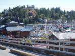 Harbour front village at 2 km.