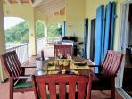 Or enjoy the 62ft x 10ft Veranda with barbecue for al fresco dining ...