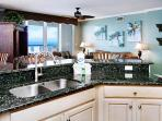 Make your meals while overlooking the ocean!