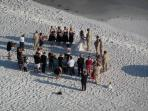 Have a wedding on the beach!
