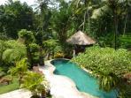 Breakfast Pavillon near pool
