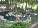 outdoor landscape waterfall
