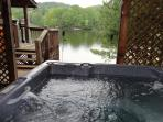 Your View from your private hot tub!