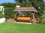 Constantia Cottages - Main Garden/Swing Bench