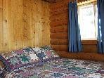 Cabin Master Bedroom