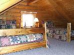 Cabin Loft with two beds