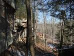 Clifty Wilderness At Big Rock Log Cabin