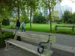 Wander down to the park and enjoy a picnic by the sea or people watch