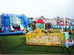 Funland at Tony's just 100m from apartment. Euro 7 for whole day of fun! Keep children entertained!