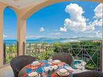 Gorgeous balcony overlooking Tamarindo Bay and Playa Grande