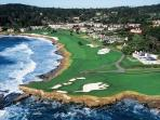 location highlighted in red-next to the Lodge at Pebble Beach