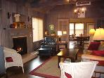 Idle Hours,  Gas Fireplace, Cozy and Well-lit Vacation Home
