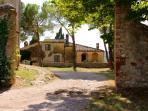 Casa Dami - from Fattoria entrance