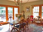 Large Dining room - deck outside