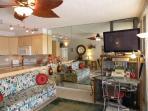 Unit #201 kitchen/livingroom