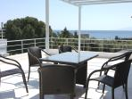 Furnished terraces with Sea Views