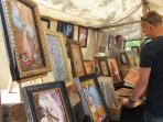 Artists on the Flea Market