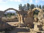 Paphos Archaeological Park next to the harbour is a 15-minute walk or a short bus ride away