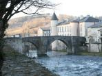 Brassac 12th century bridge