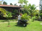Fantastic Staff keeping the gardens beautiful