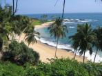 Bentota Beach - five minutes from the villa