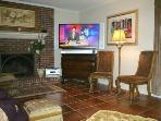 Enjoy your 52' HDTV w/ Surround Sound & Premium Cable Channels