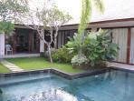 Villa Samsara, viewed from across the pool