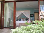 Inviting, spacious bedroom suites