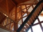 Custom fir staircase