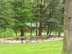 Kishauwau grounds & cabin photos
