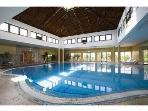 Heated pool with Jaccuzzi and Sauna