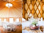 Oour Yurt facility for all guest services