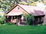 Rustic Log Cabin on Seneca Lake