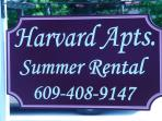 Harvard Apartments Sign