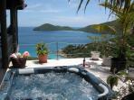 Hot Tub under Brilliant Sun or Moon & Stars