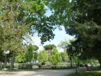 The Park close to our villa - the small lake