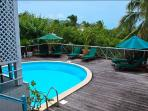 LA MAZET at Green Cay...affordable villa with private pool, walk to beach