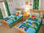 Winnie the Pooh twin room