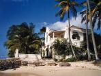 View of Caprice Beach Villa in Barbados from the beach