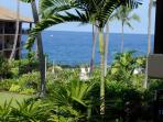 Ocean Front Kona Makai Perfect Sunset Views Furnished 1 bedroom Condo