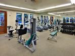 Professionally equipped gym is yours at no additional cost - clean and climate controlled