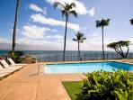 Relax at the oceanside pool