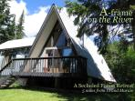 Forest retreat on trout stream just a few miles up the Gunflint Trail!