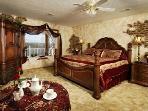 Main Level Master 'Italian Villa' Bedroom