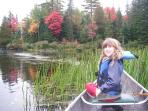 Go for a canoe ride in Algonquin Park.