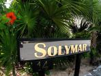 Solymar entrance