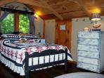 upstairs bedroom, also has a twin bed