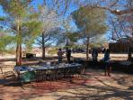 Rattler Ranch Communal Patio