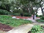 Mclean Park about a 10 minute walk from Ocean Keyes